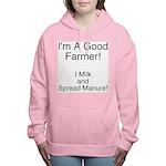 A Good Farmer Women's Hooded Sweatshirt