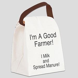 A Good Farmer Canvas Lunch Bag