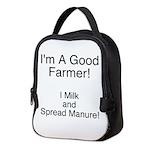 A Good Farmer Neoprene Lunch Bag