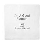 A Good Farmer Queen Duvet