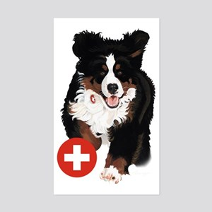 Liane Weyers Bernese Mountain Dog Artist Sticker