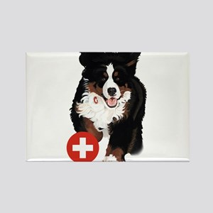 Liane Weyers Bernese Mountain Dog Artist Magnets