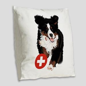 Liane Weyers Bernese Mountain Dog Artist Burlap Th