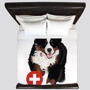 Liane Weyers Bernese Mountain Dog Artist King Duve