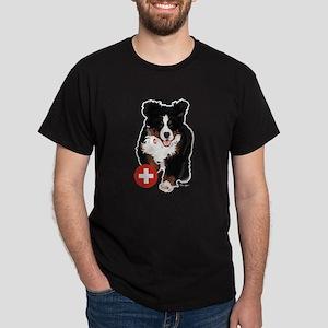 Liane Weyers Bernese Mountain Dog Artist T-Shirt