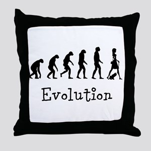 Evolution Throw Pillow