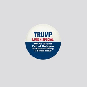 President Trump Lunch Special Mini Button