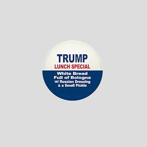 President Trump Lunch Special Mini Button