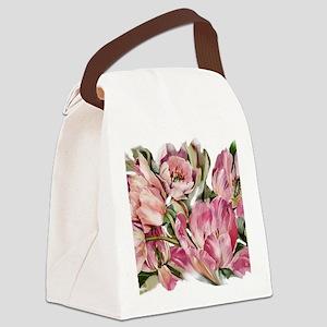 Tulip1 Design Canvas Lunch Bag