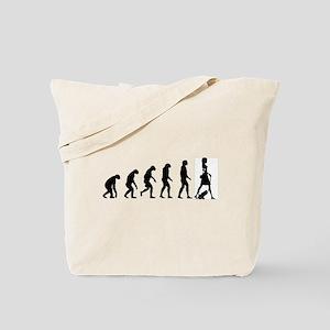 Evolution no text Tote Bag