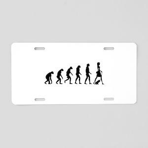 Evolution no text Aluminum License Plate