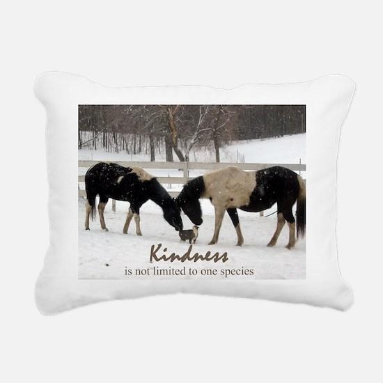 Kindness Rectangular Canvas Pillow