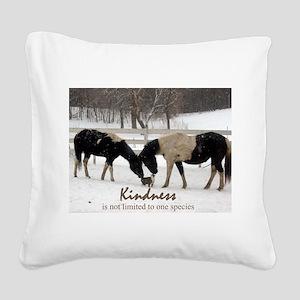 Kindness Square Canvas Pillow