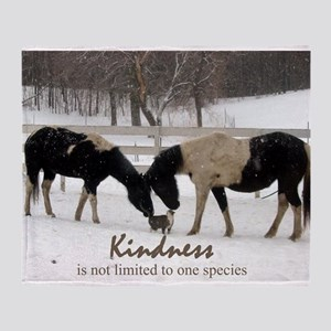 Kindness Throw Blanket