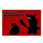 Gruss Von Krampus Postcards (package Of 8)