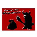 Gruss Von Krampus Postcards (package Of 8)