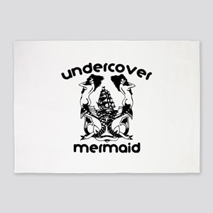 Undercover Mermaid 5'x7'Area Rug