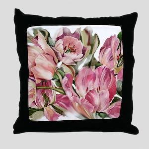 Tulip1 Design Throw Pillow