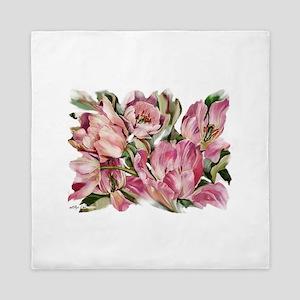 Tulip1 Design Queen Duvet