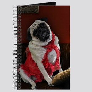 Pug Waiting for You Journal