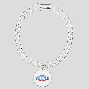 Team Veeple Charm Bracelet, One Charm