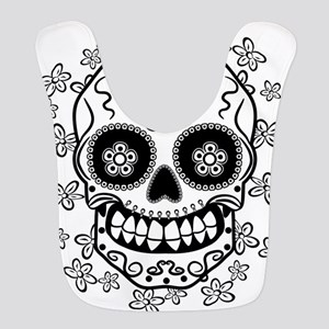 Sugar Skull.B W Bib