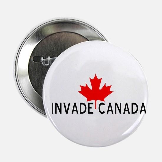 Invade Canada Button