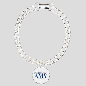 I'm the Amy Charm Bracelet, One Charm