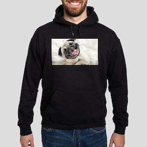 Pug Hoodie (dark)