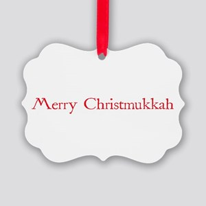merrychristmukkah Ornament