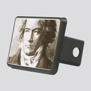 Beethoven In Sepia Rectangular Hitch Cover