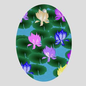 Lotus Ornament (oval)