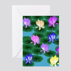 Lotus Greeting Cards