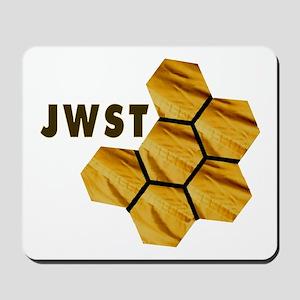 James Webb Mirror Logo Mousepad