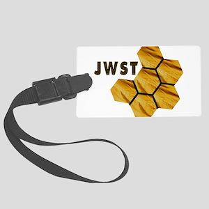James Webb Mirror Logo Large Luggage Tag