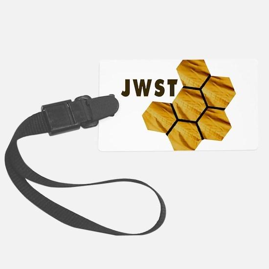 James Webb Mirror Logo Luggage Tag