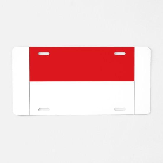 Sang Saka Merah-Putih Aluminum License Plate