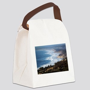 La Jolla and Del Mar Canvas Lunch Bag