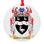 Hemingway Round Ornament