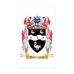Hemingway Sticker (Rectangle 50 pk)