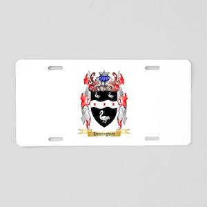 Hemingway Aluminum License Plate