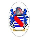 Hemington Sticker (Oval 50 pk)