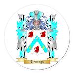 Hemings Round Car Magnet