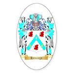 Hemings Sticker (Oval 50 pk)