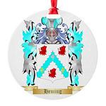 Heming Round Ornament