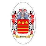 Hemery Sticker (Oval 50 pk)