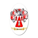Hemeret 35x21 Oval Wall Decal