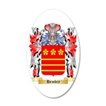 Hembry 35x21 Oval Wall Decal