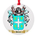 Helyer Round Ornament