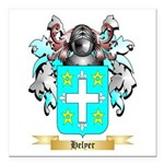 Helyer Square Car Magnet 3